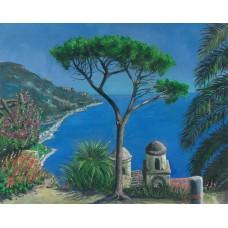 View over Capo D' Orso Sardinia