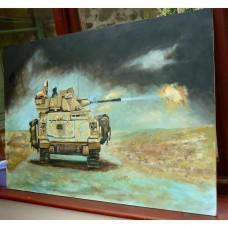 Warrior fighting vehicle Basra 2003