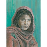 an Afghan woman