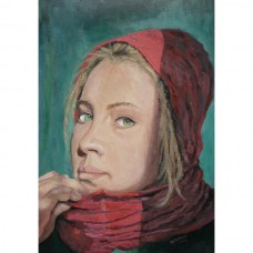 The Woman in with the Red Scarf