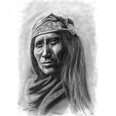 an Apache man