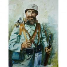 World War 1 French Soldier