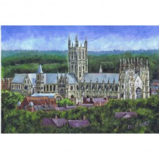 Canterbury Cathedral from a distance