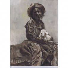 Pueblo North American Indian boy